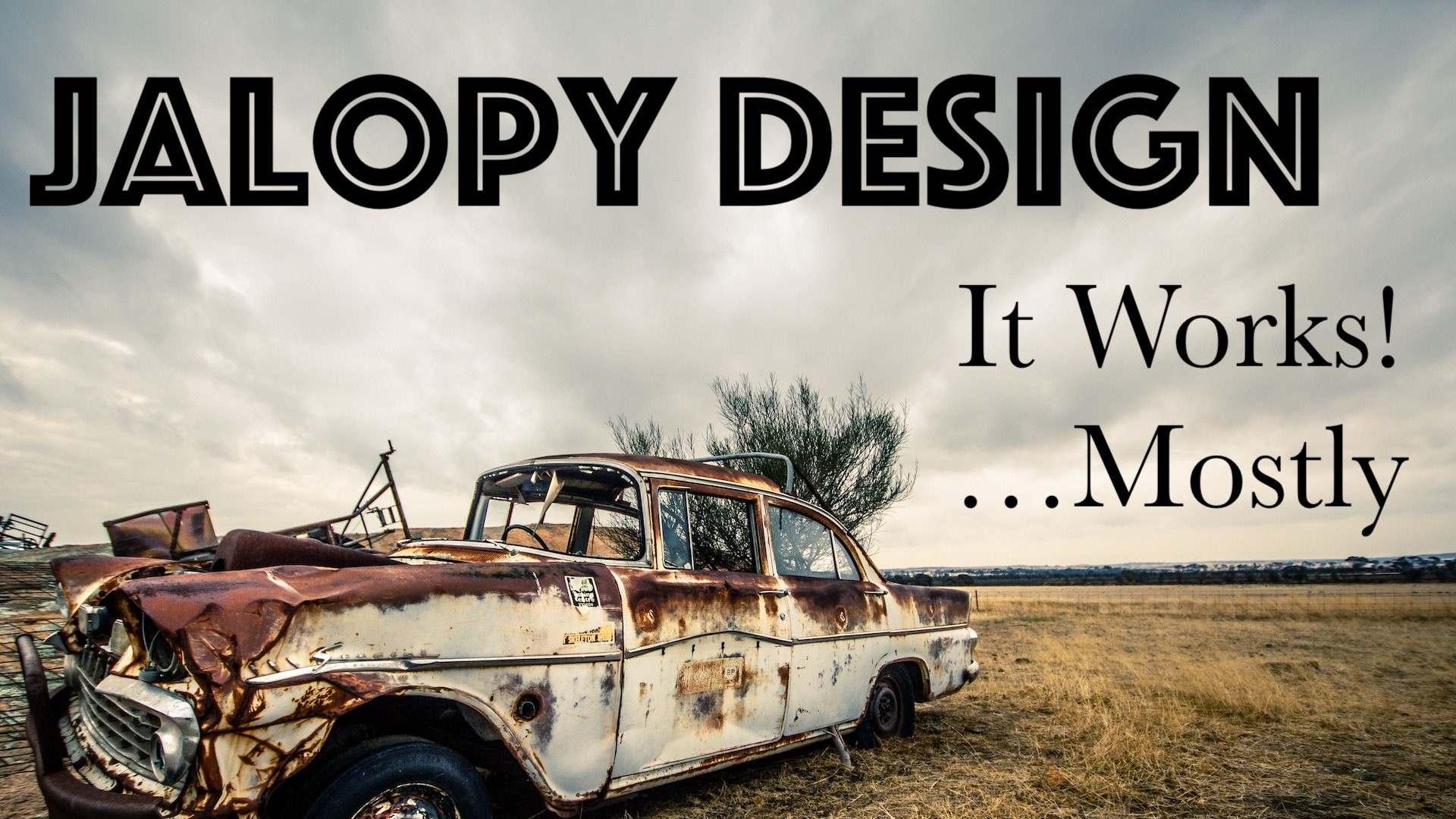 Jalopy Design: Making a Zine